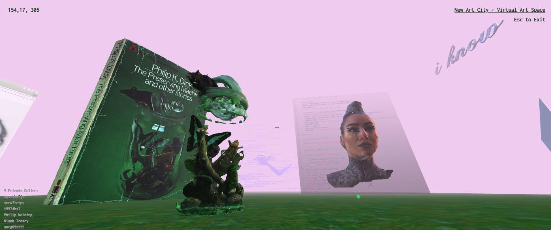 The Preserving Machine Virtual Exhibition Tour